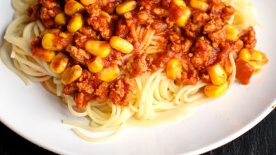 Photo of Dairy-Free Taco Spaghetti Recipe that's Fast, Easy & Family-Approved
