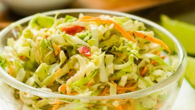 Photo of Sweet and Sour Slaw Recipe (Plant-Based, Mayo-Free, Oil-Free, Fat-Free)
