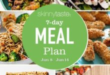 Photo of 7 Day Healthy Meal Plan (June 8-14)