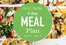 Photo of 7 Day Healthy Meal Plan (June 15-21)