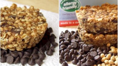 Photo of Chocolate Chip Flax and Oat Bars Recipe (Famously Allergy-Friendly)