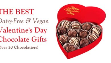 Photo of The Best Dairy-Free Valentine Chocolate (Vegan, too!)