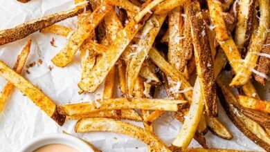 Photo of Air Fryer Nacho Fries – Skinnytaste