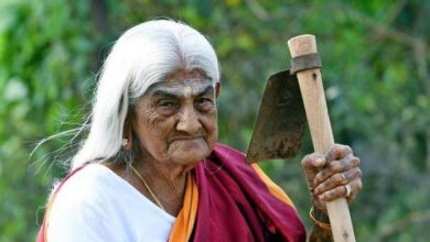 Photo of The 105-year-old grandma who was awarded Padma Shri