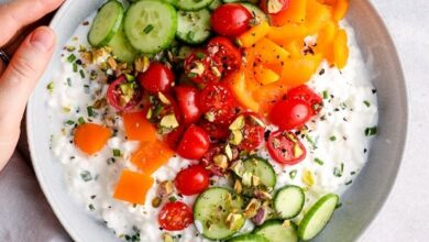 Photo of Savory Cottage Cheese Bowl (High Protein Breakfast)