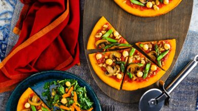 Photo of Paleo Pizzas Recipe with Sweet Potato Crust (Dairy-Free, Grain-Free)