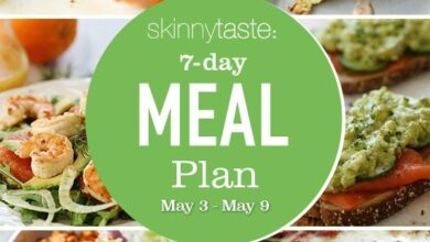 Photo of 7 Day Healthy Meal Plan (May 3-9)