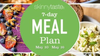 Photo of 7 Day Healthy Meal Plan (May 10-16)