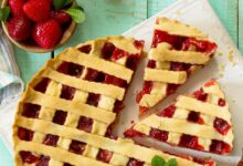 Photo of Vegan Fresh Strawberry Pie Recipe (Dairy-Free & Nut-Free)