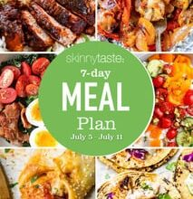 Photo of 7 Day Healthy Meal Plan (July 5-11)